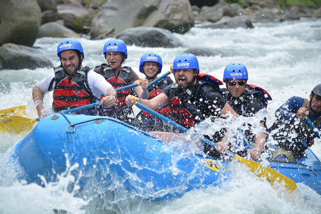 15 Reasons Why a WAVE Rafting Trip is the perfect way to spend Spring Break!