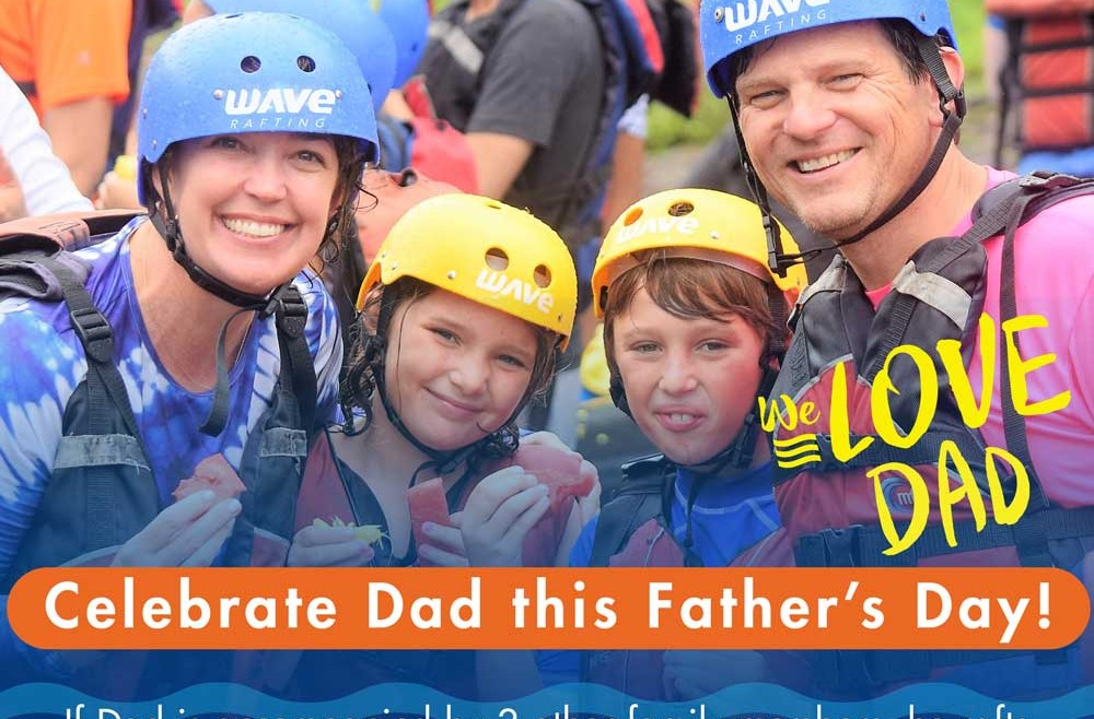 Dads Raft Free on Father's Day