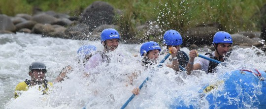 Top 3 benefits of White Water Rafting