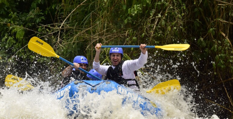 What an amazing combo – Canyoning and Rafting